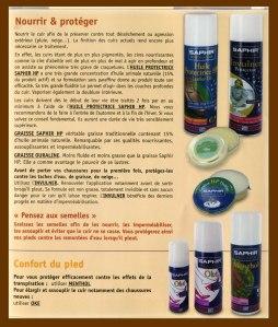 produits saphir