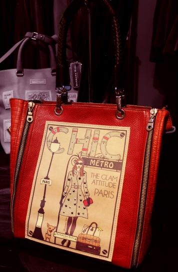 Sac à main rouge Barbara Rihl en vente à Toulouse