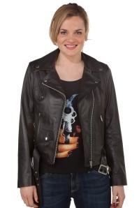 Acheter un perfecto cuir femme noir chez Cesare Nori