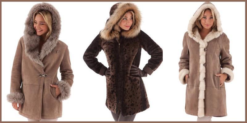 Veste 3/4 et manteau en peau lainée de grande qualité en vente à Toulouse et en ligne au meilleur prix