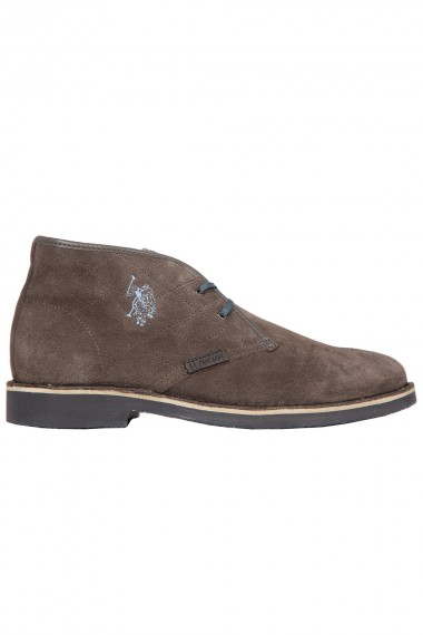 Chaussure daim marron Polo Assn