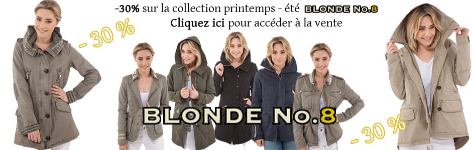 remise blonde n8 collection femme