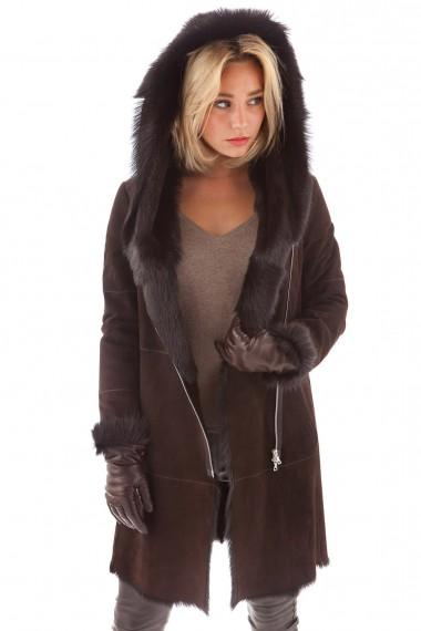 manteau-sport-zippe-fourrure-chevrette-marron-ventcouvert-femme-vc-48