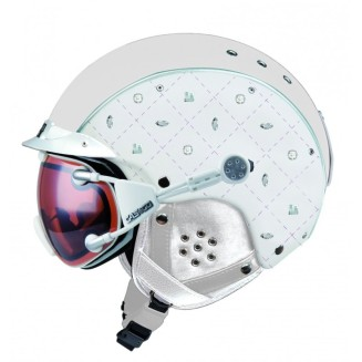 Superbe casque de ski Limited Crystal de Casco